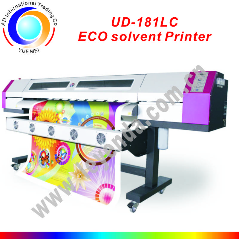 saleable1.8 large format printer with epson dx5 printhead