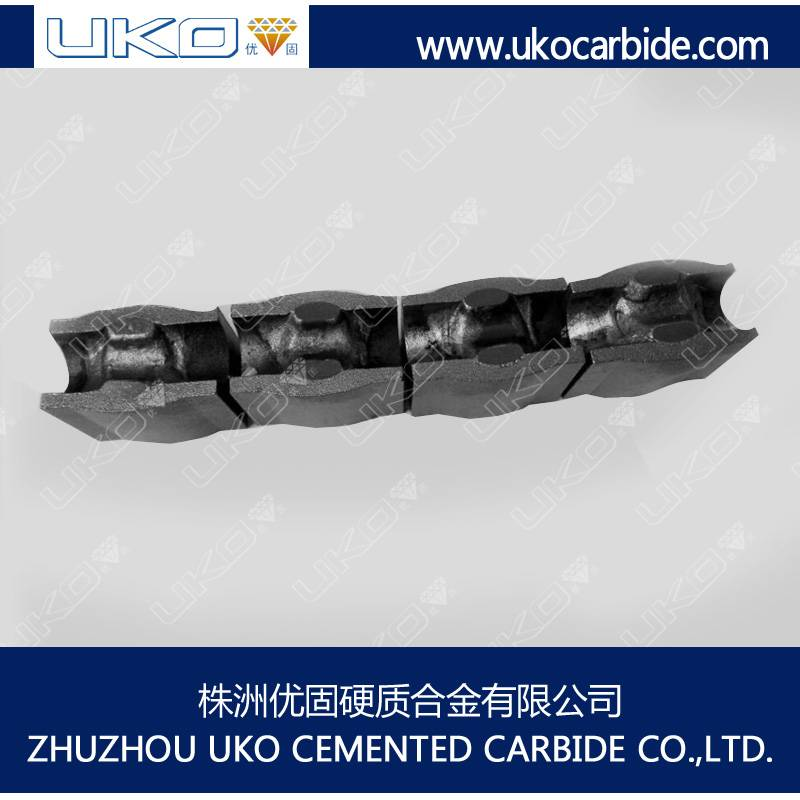 Tungsten carbide bush for wire cold form industry