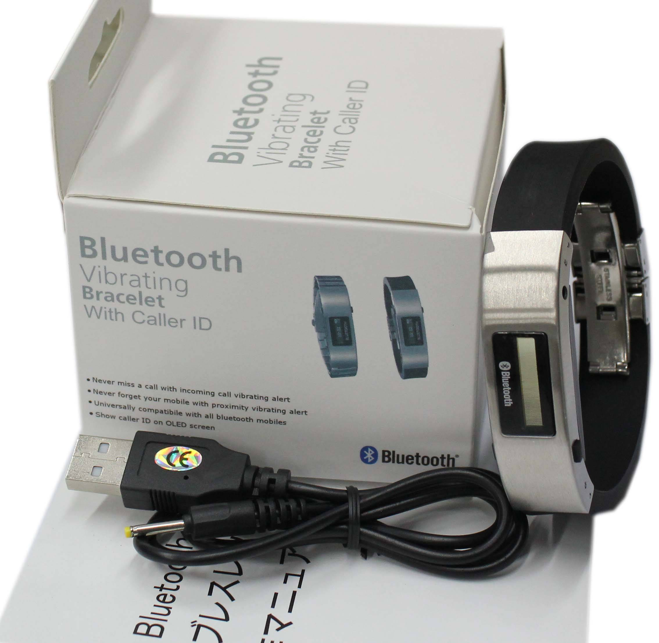 Bluetooth Bracelet,Humanized design of butterfly clasp, nice handle.