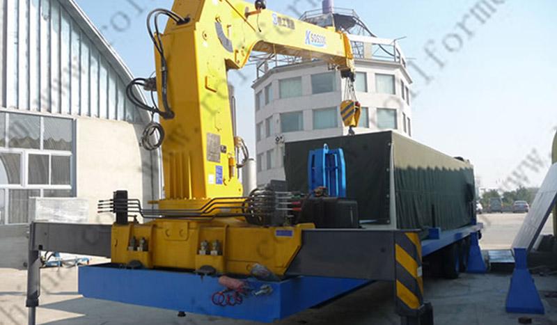 UBM Cold Roll Forming Machine , CS-600-305