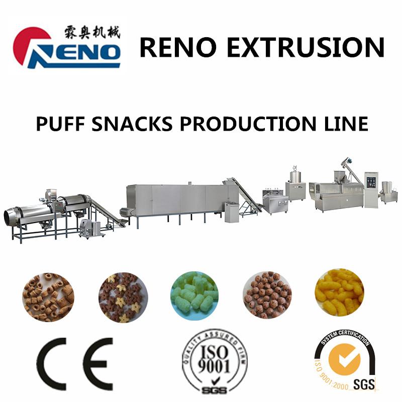 core filling puff snacks machinery