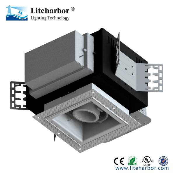 Rgbw Cob Led Downlight Multiple Square 1 Lamp Trimless