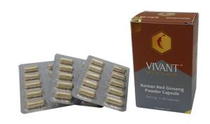 VIVANT - Korean Red Ginseng Powder Capsule
