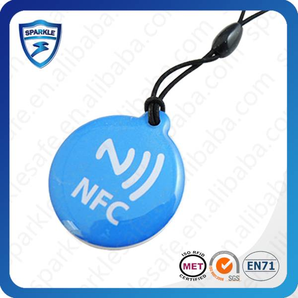 Long distance epoxy NFC RFID tag