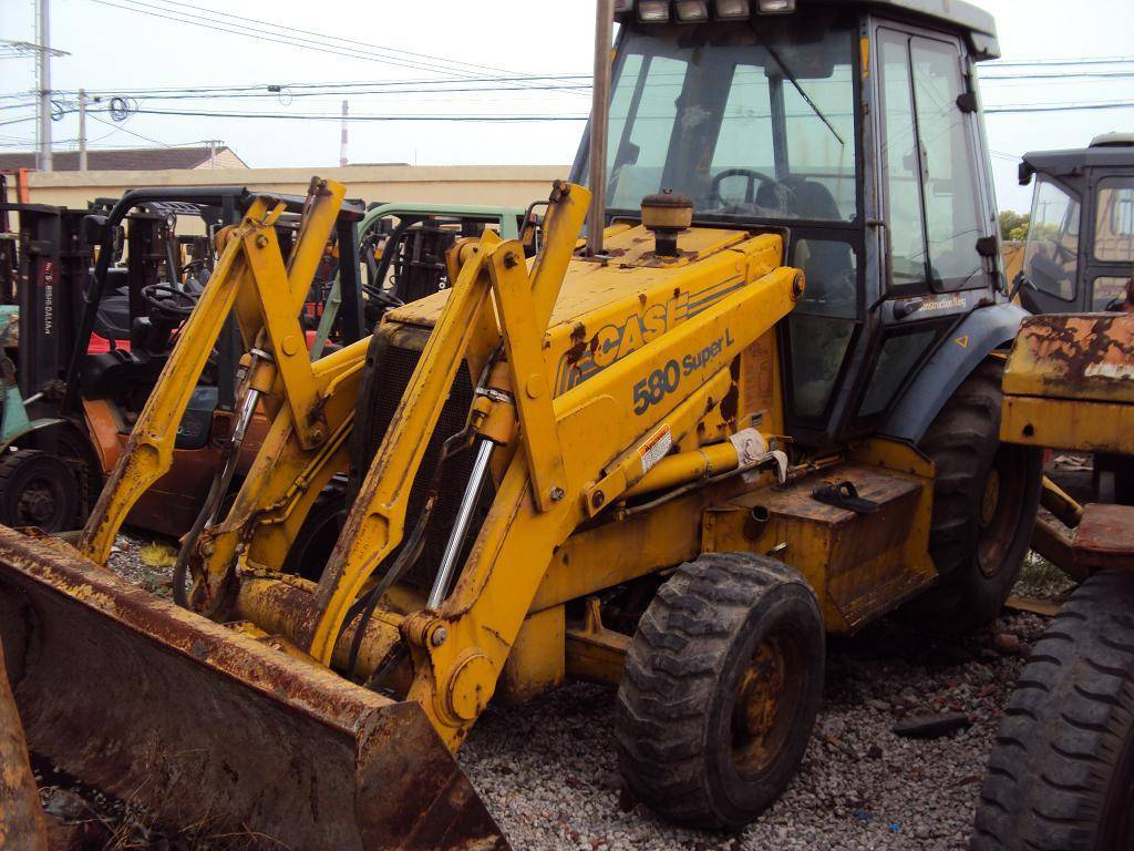 case 580 backhoe loader for sale