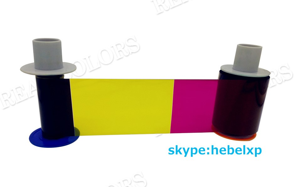 Compatible Fargo HDP5000 Ribbon PCC84051 YMCK 500 Prints Made in South Korea HDP5000 ID Card Printer