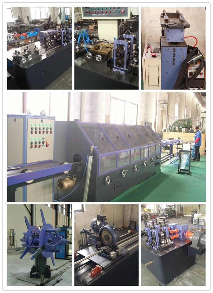 Precision stainless steel tube mill