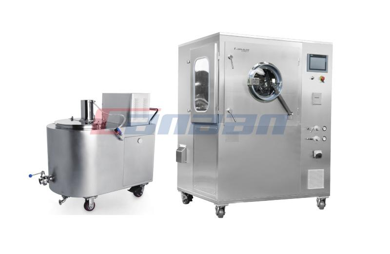 High-efficiency Film Coater with Perforated Drum