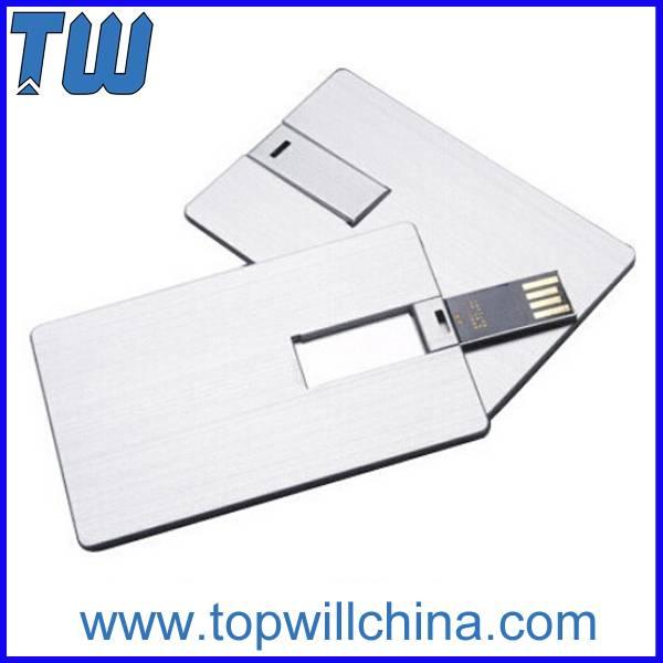 Full Metal Credit Card Usb Flash Memory Noble Design