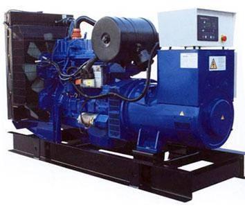 Open type perkins diesel generator set