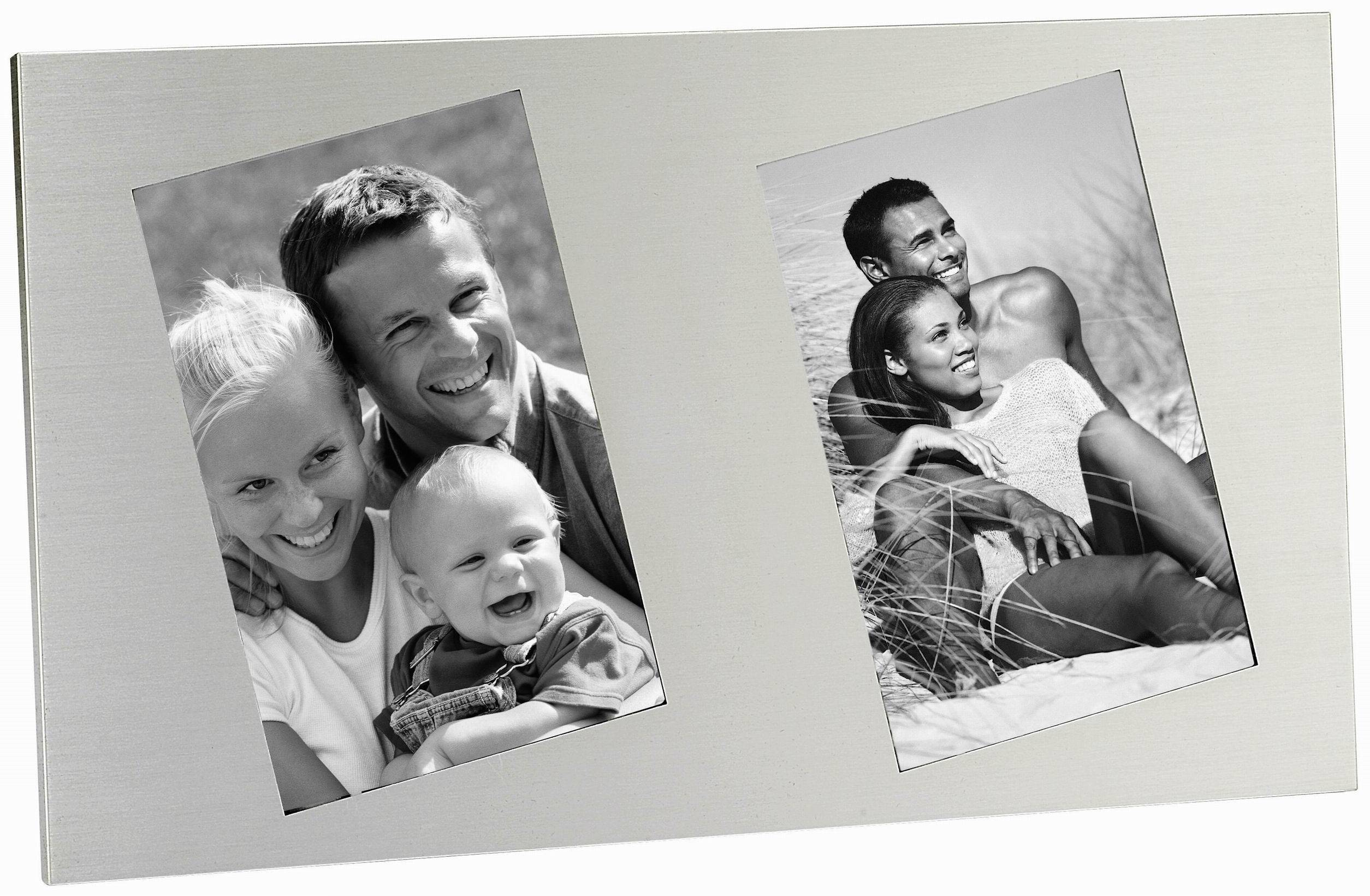 Aluminium Photo Frame with Black Velvet Fabric Board