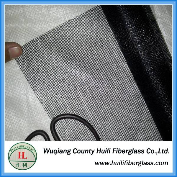 Fire proof fiberglass mosquito net / 120g fiberglass insect screen