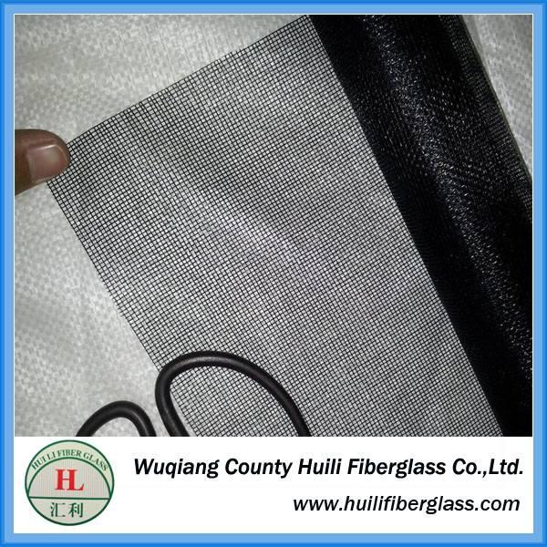 Fire proof fiberglass mosquito net / 120g fiberglass insect screen