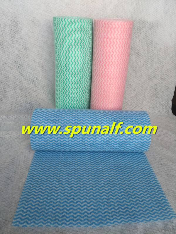 Cleaning Easily Low Price Spunlace Nonwoven Fabric In Roll