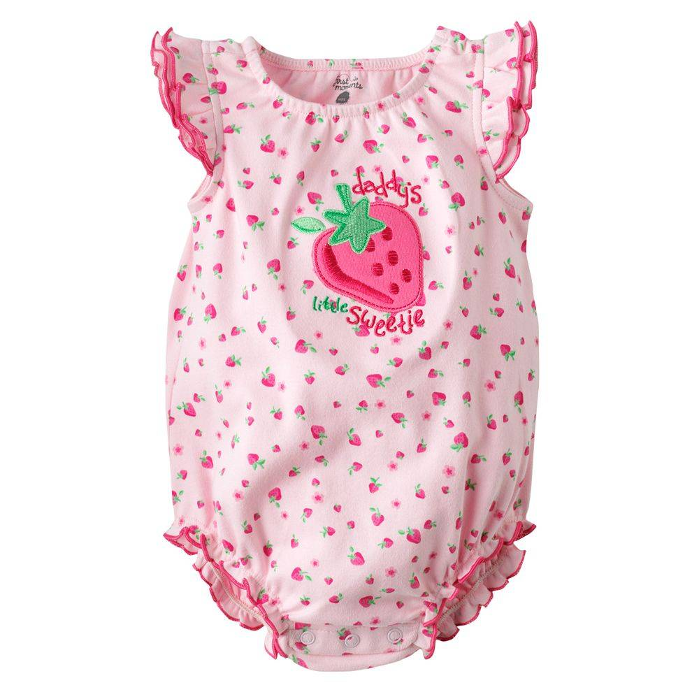 first moment romper for baby