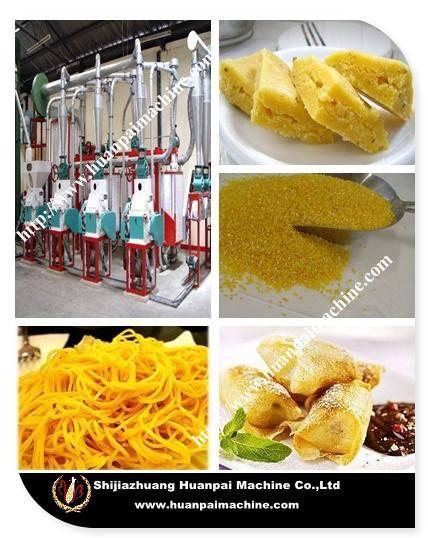 maize/corn flour milling machine