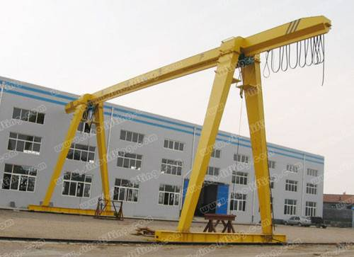 Gantry Crane with Electric Hoist MH Type
