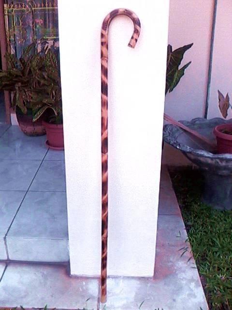 Manau Rattan Walking Stick
