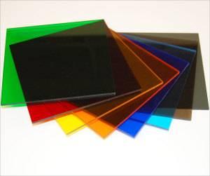 acrylic sheet color