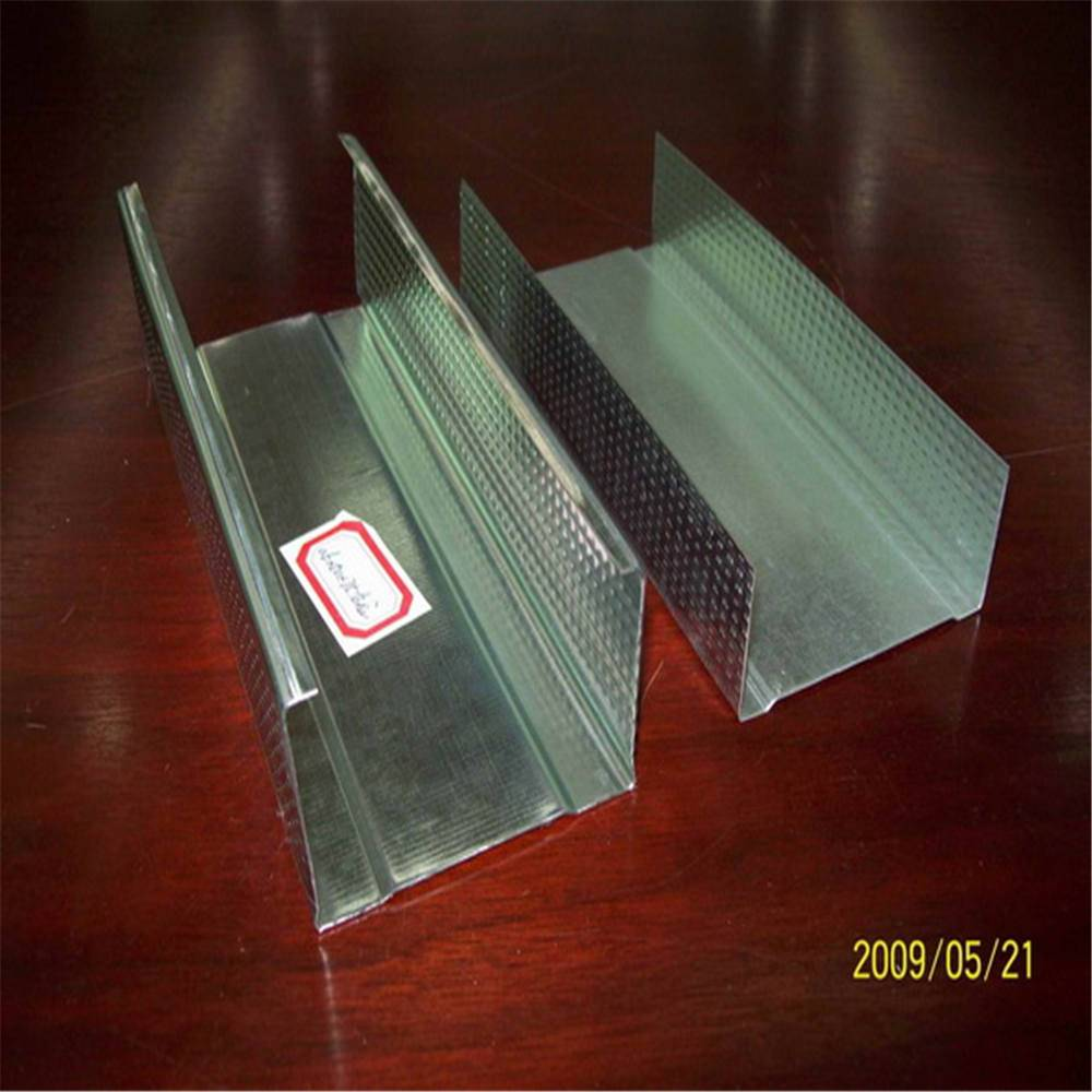 drywall partition system, galvanized steel stud and track