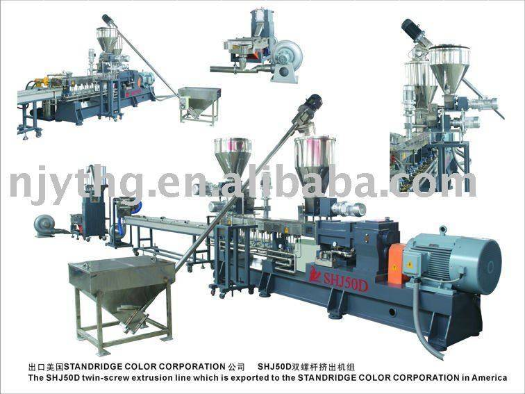 Nylon+glass fiber production line