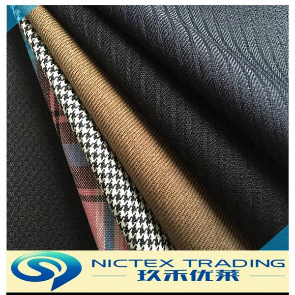high quality worsted wool fabric for men