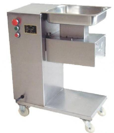 meat cutter machine with pulley
