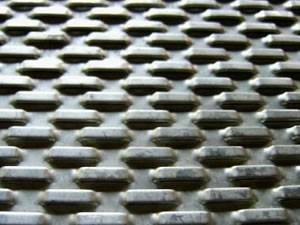 Scale Hole Perforated Plate Mesh