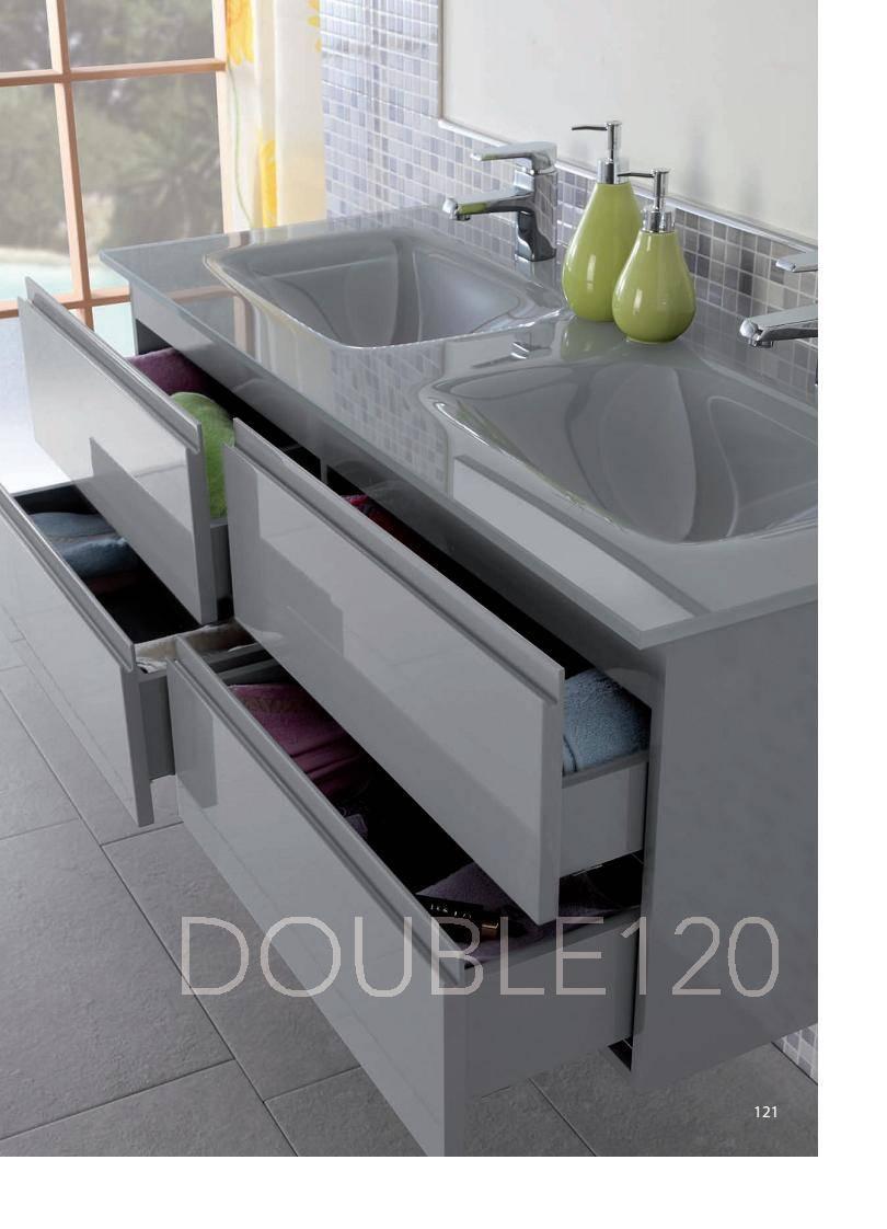 hot popular italian style MDF bathroom vanity
