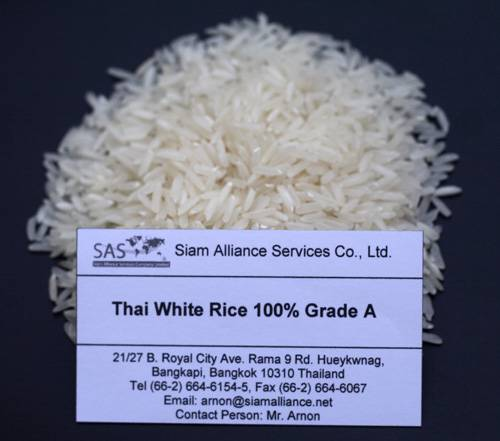 Best Quality Thai White Rice 100% Grade A