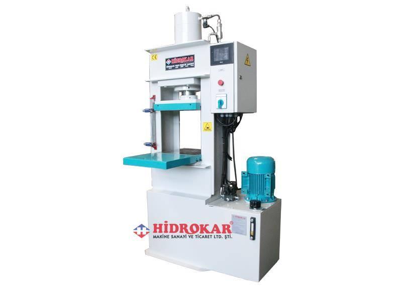 hydraulic rubber press-plc controller