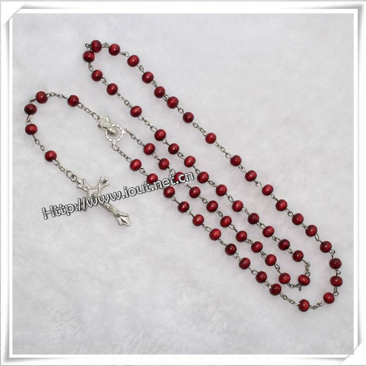 Different Beads Material and Saint Catholic Rosary
