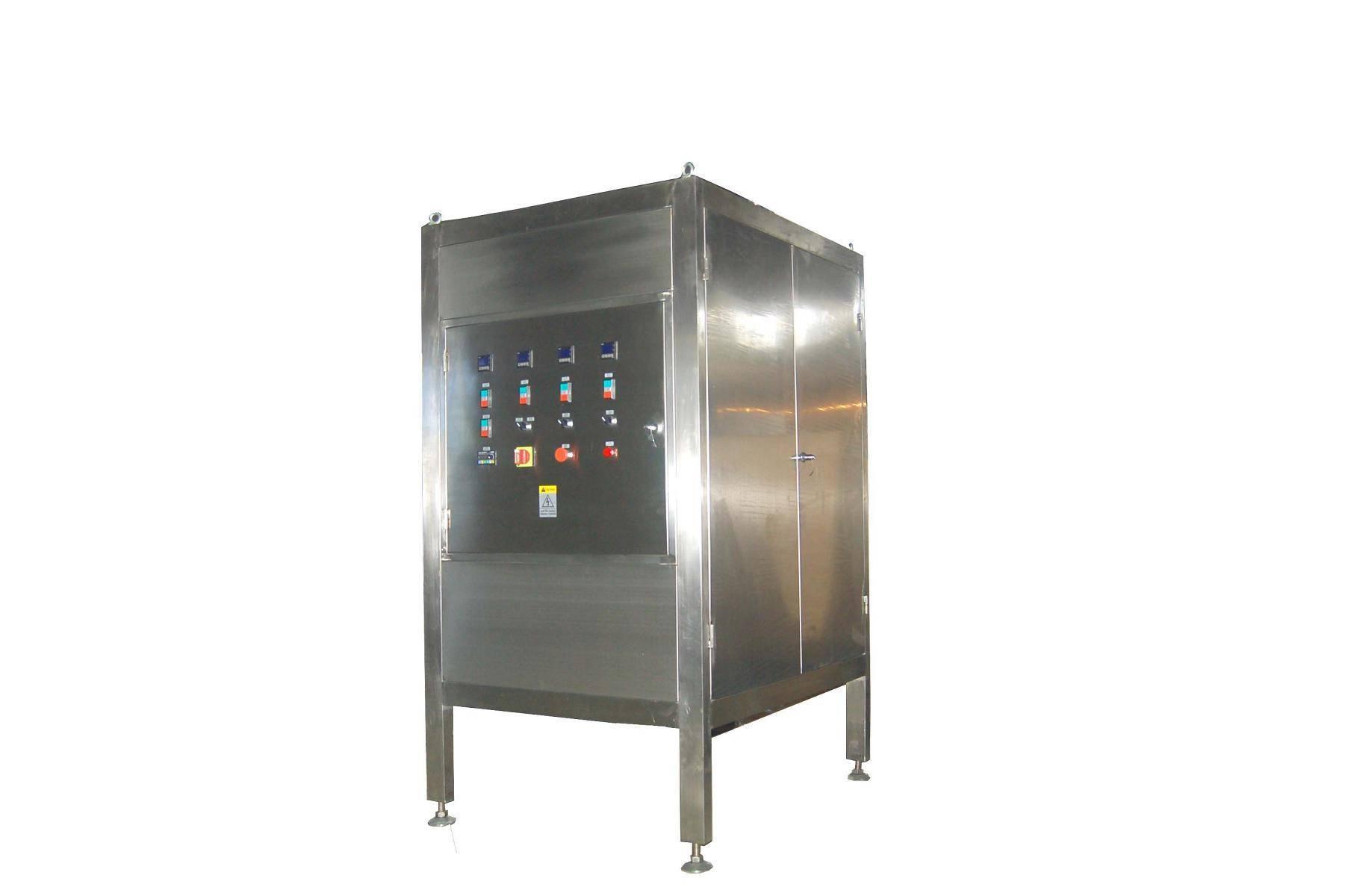 chocolate tempering machine/adjuster