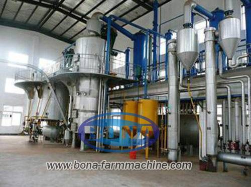 Edible oil refining machine, crude oil refining machine