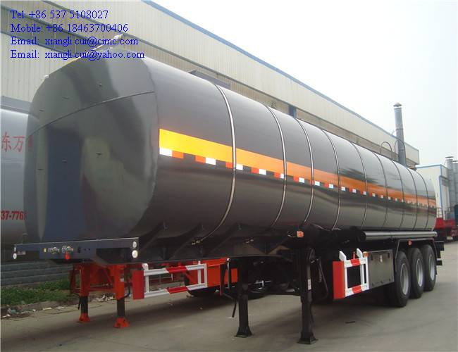 20cbm to 70cbm bitumen tank trailer
