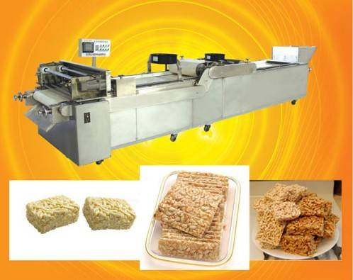 cereal bar Square shape automatic forming machine