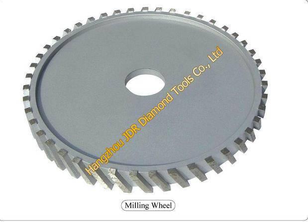 Milling wheels for Bridge saws