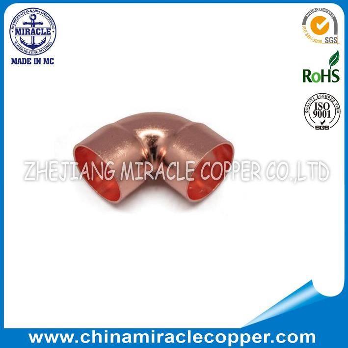 Refrigeration Parts Copper 90° Elbow