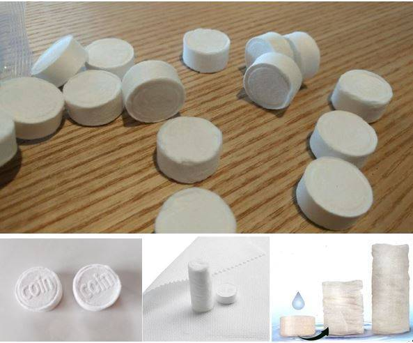 Compressed Coin Tissue (Towel)
