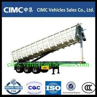 Sell CIMC 3 axle dump trailer