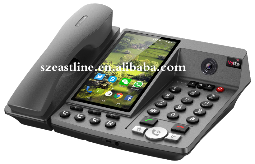 5.5 Inch 4G LTE FWP Android Desktop Fixed Wireless Telephone