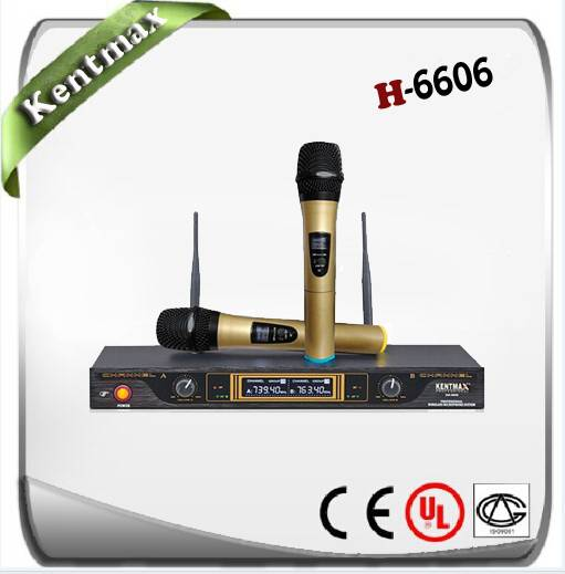 Supply H-6606 VHF wireless microphone
