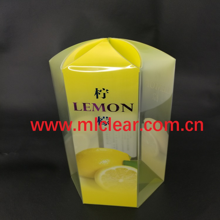 PET clear plastic box gift packaging box