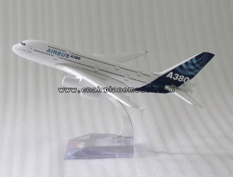 airplane model Airbus380 18cm