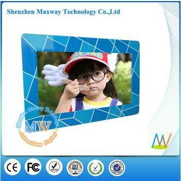 Colorful fashion design 10 inch decorative digital photo frame