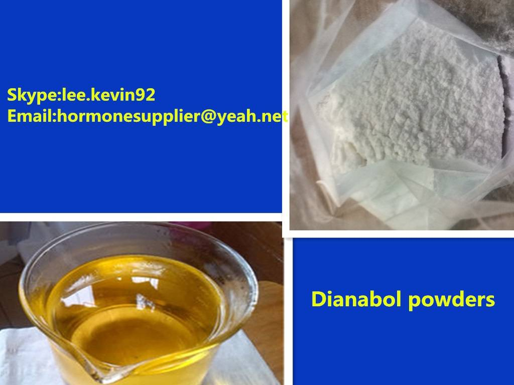 Muscle Gain Anabolic Steroid Hormones 99% Purity Methandienone Dianabol CAS72-63-9 for bodybuilder