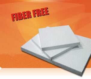 New Fiber-Free Low Density Ceramic Foam Board for High Temperature Furnace Lining