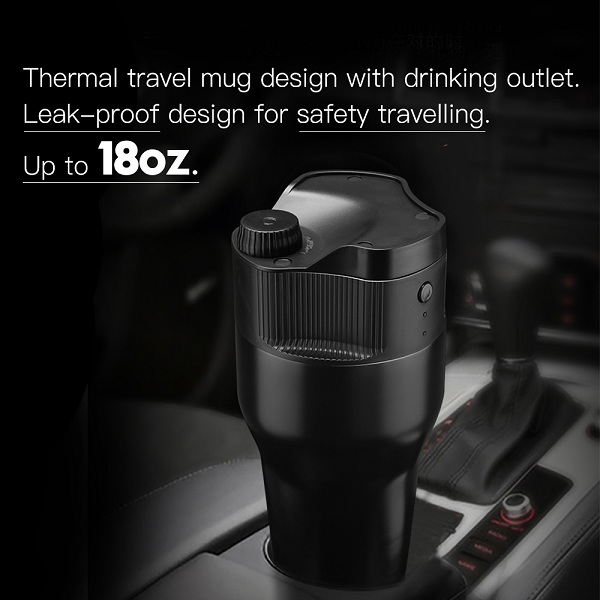 USB individual coffee maker travel coffee mug