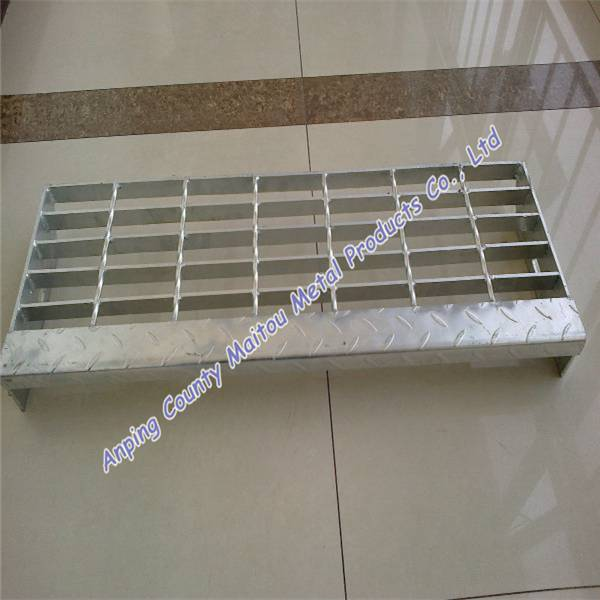 galvanized steel grating step
