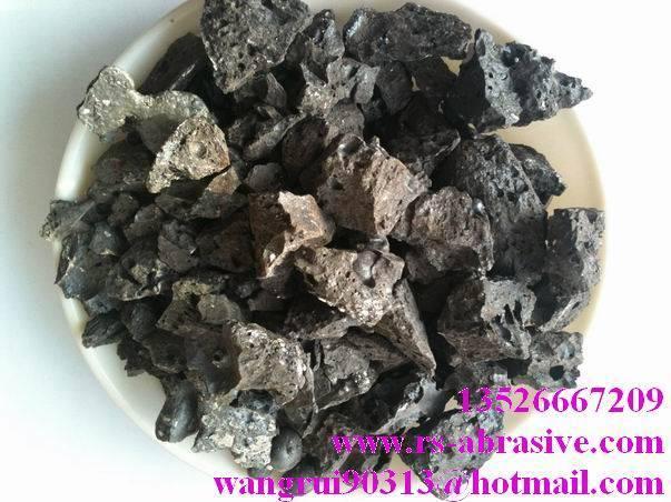 selling calcium feerite slag/melting steel additives/RuiShi brand dephosphorization agent/